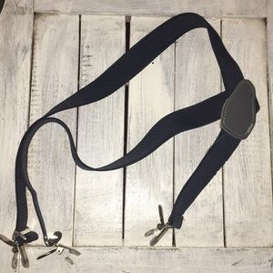Other - Adjustable grey suspenders youth one size